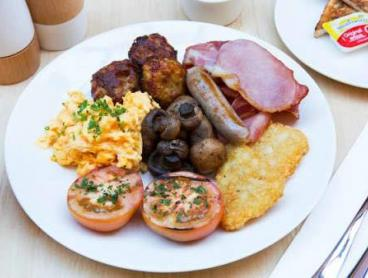 Hotel Brekkie Buffet with Coffee and Fresh Juice in Ultimo