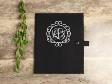 Personalise Your Own Vegan Leather Book Cover