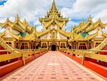 Magical Myanmar: 9-Day Tour with Return International Flights & River Cruise