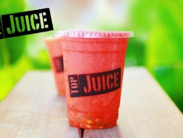 $4.95 for Large Fruit or Veggie Juice at Top Juice, Multiple locations (Up to $8 Value)