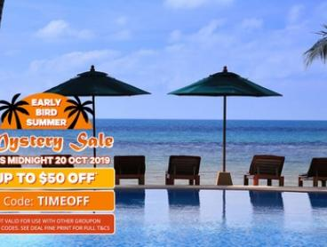Koh Samui: 5-10 Nights for 2 with Breakky, Dinner, Massage, Airport Transfers and Cocktails at Manathai Koh Samui Hotel
