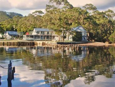 Tasmania Harbourside Romance with a Daily Glass of Wine