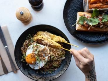 Asian Fusion Dining Experience for Two ($49) or Four People ($98) at Infuse Camberwell (Up to $182 Value)