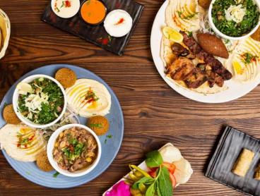 Authentic Lebanese Feast with Dessert and Drinks in Granville