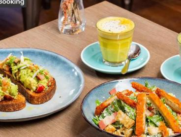 Vegan Brekkie or Lunch &  Drinks at Heritage Camperdown Cafe