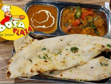 Indian Lunch with Curry & Drink for 1 ($9.90), 2 ($19.80) or 4 People ($39.60) at Dosa Plaza Harris Park (Up to $67.60)