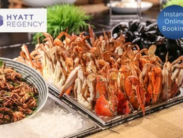 Chef's Table Buffet for Two ($95) or Four People ($189) at The Sailmaker Hyatt Regency (Up to $260 Value)