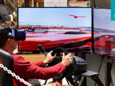 Racing Simulation or VR Experiences in Macquarie Centre